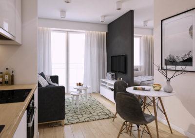 Mieszkanie 25 m2